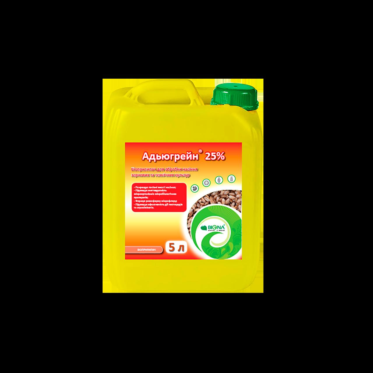 Адьюгрейн® 25% – Біопрепарат, прилипач - стабілізатор для обробки насіння – купити від виробника в Україні