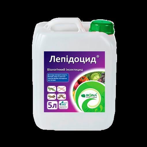 Лепідоцид® – Біологічний інсектицид кишкової дії, призначений для боротьби з листогризучими шкідниками. Застосовується для захисту сільськогосподарських, лісових і паркових культур